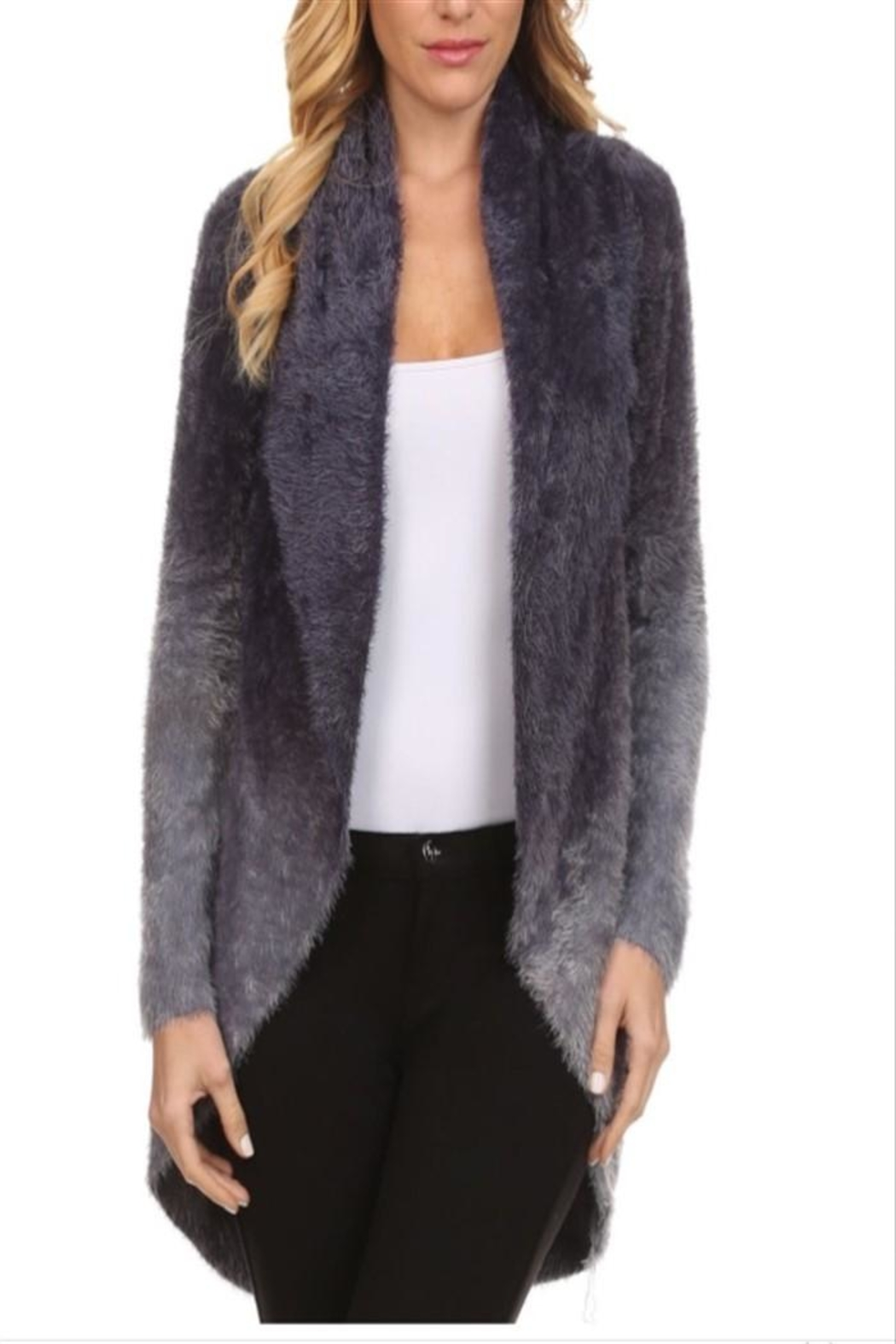 High Secret Fuzzy Cardigan - Main Image