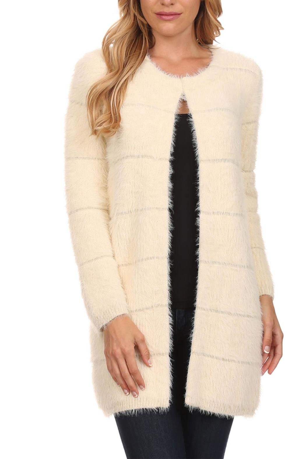 High Secret Off-White Fur Sweater from Michigan by Nadia's Fashion ...