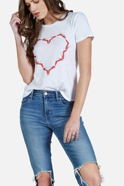 Lauren Moshi Highheel Heart Tee - Product Mini Image