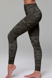 Onzie Highrise Camo Legging - Front full body
