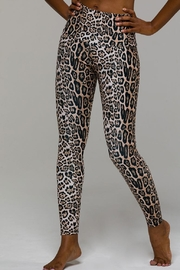 Onzie Highrise Leopard Legging - Front cropped