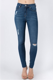 Signature 8 Highrise Skinny Jeans - Product Mini Image