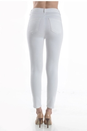 just black Highrise Skinny White - Side cropped