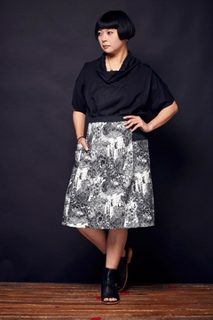 Shoptiques Product: Now Playing Skirt