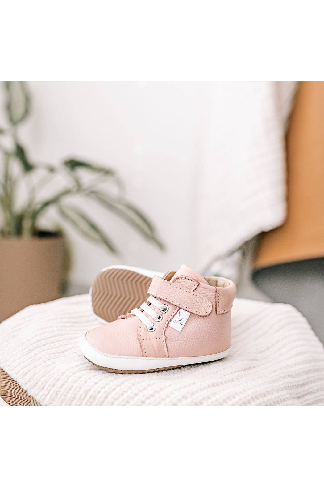Little Love Bug Company Hightop - Pink - Front Full Image