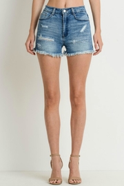 C'Est Toi Highwaist Denim Shorts - Product Mini Image