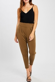 Gentle Fawn Highwaisted Cropped Pants - Front cropped