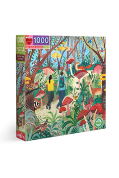 Eeboo Hike In The Woods 1000 Piece Puzzle - Alternate List Image