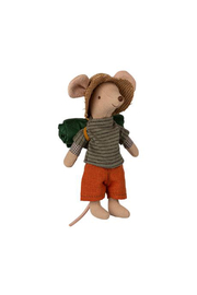 Maileg Hiker Mouse Big Brother - Product Mini Image