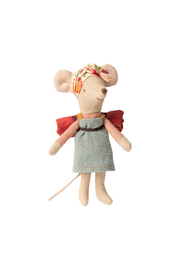 Maileg Hiker Mouse Big Sister - Front cropped