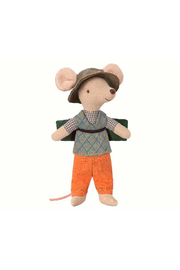 Maileg Hiking Mouse, Big Brother - Product Mini Image
