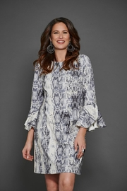 Hilary Radley Snake Print Dress - Product Mini Image