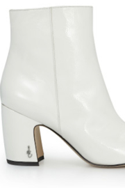 Sam Edelman Hilty White Bootie - Product Mini Image