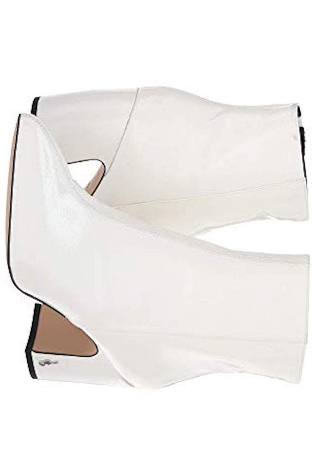 Sam Edelman Hilty White Bootie - Side Cropped Image