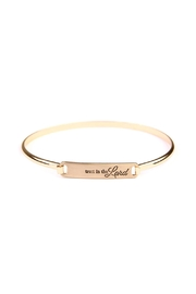 Riah Fashion Hinge Trust  Bracelet - Product Mini Image
