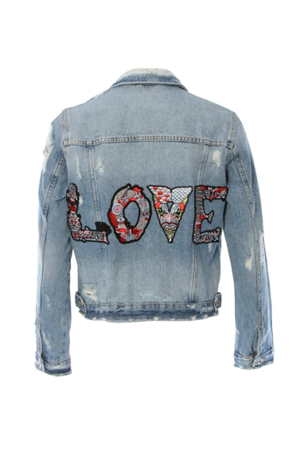 HIPCHIK  Denim Love Jacket - Main Image