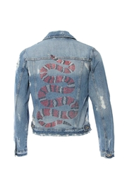 HIPCHIK  Denim Snake Jacket - Product Mini Image