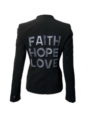 HIPCHIK  Faith Love Blazer - Front cropped