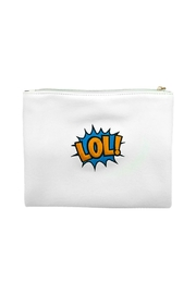 HIPCHIK  Lol! White Pouch - Product Mini Image