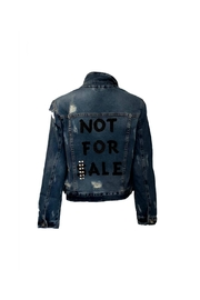 HIPCHIK  Not Denim Jacket - Product Mini Image