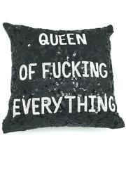 HIPCHIK  Queen Of Everything Pillow - Product Mini Image