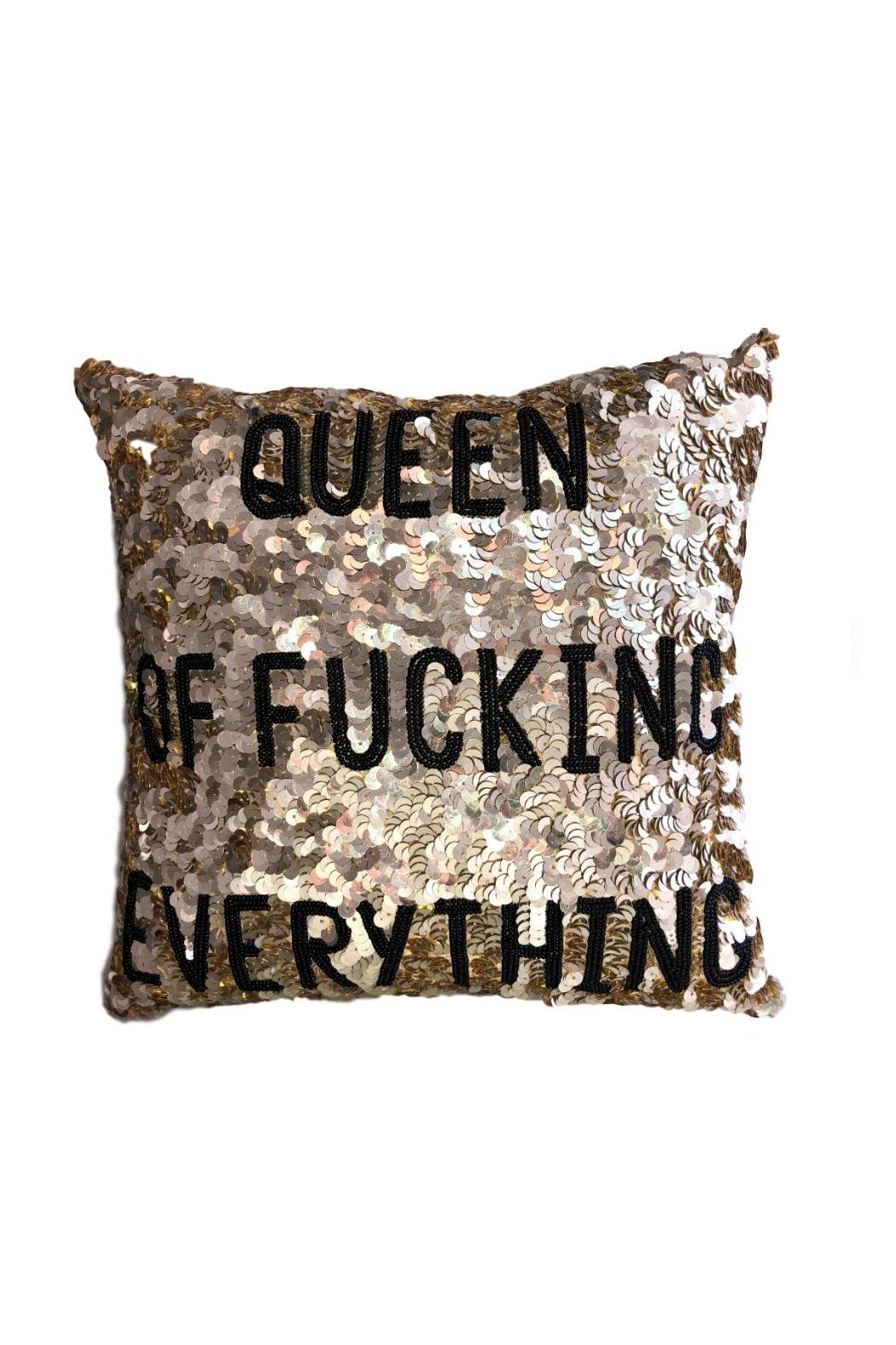 HIPCHIK  Queen Of Pillow - Front Cropped Image