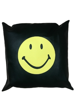 Shoptiques Product: Smiley Face Pillow