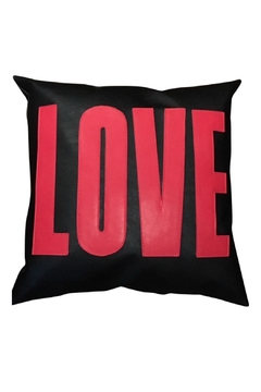 Shoptiques Product: Vegan Leather Pillow