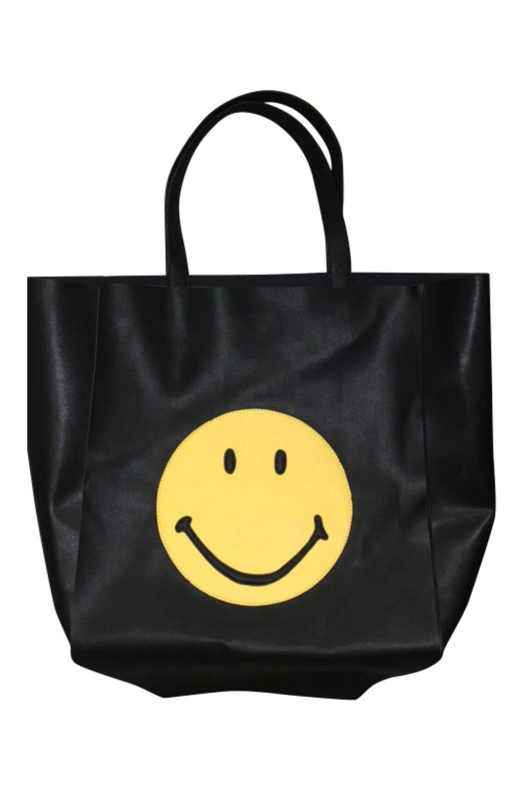 HIPCHIK  Vegan Smiley Tote - Front Cropped Image