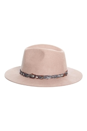 Rock Etiquette Hipster Feather Hat - Front cropped