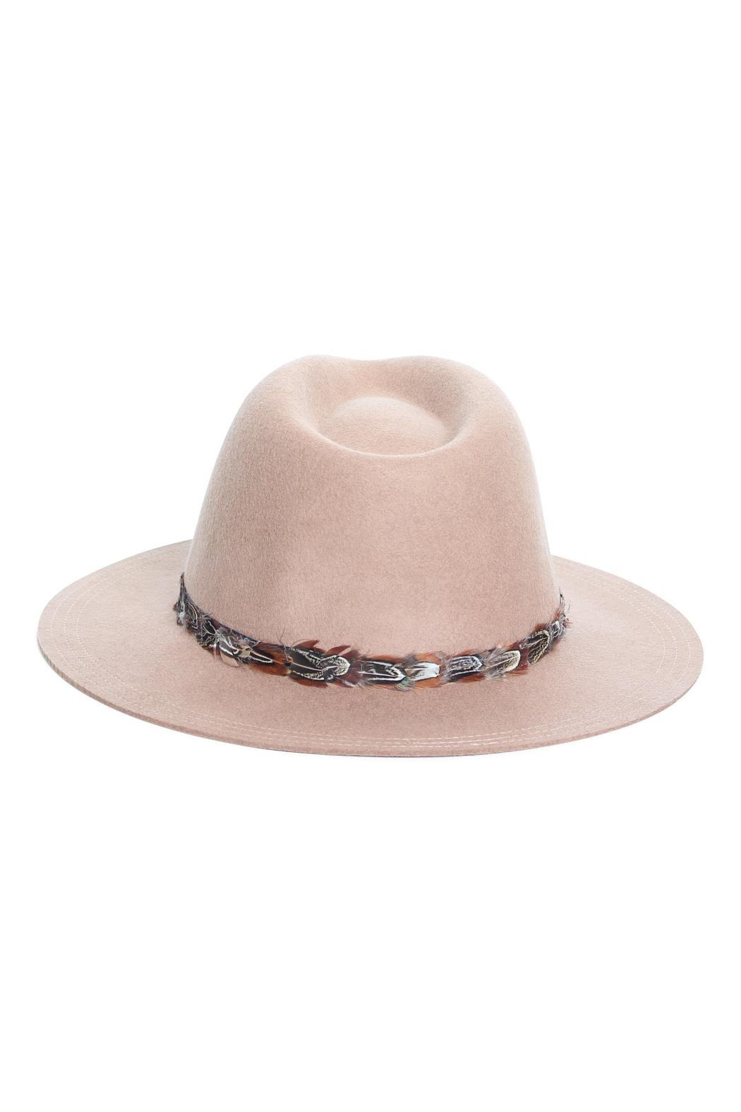 Rock Etiquette Hipster Feather Hat - Side Cropped Image