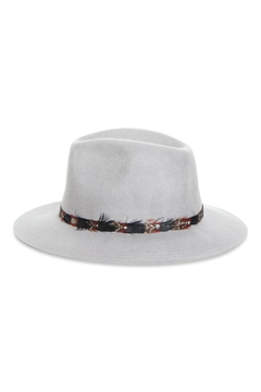 Rock Etiquette Hipster Feather Hat - Product List Image