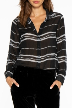 Bella Dahl Hipster Shirt Black - Product List Image