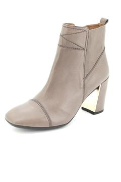 Shoptiques Product: Light Grey Ankle Bootie