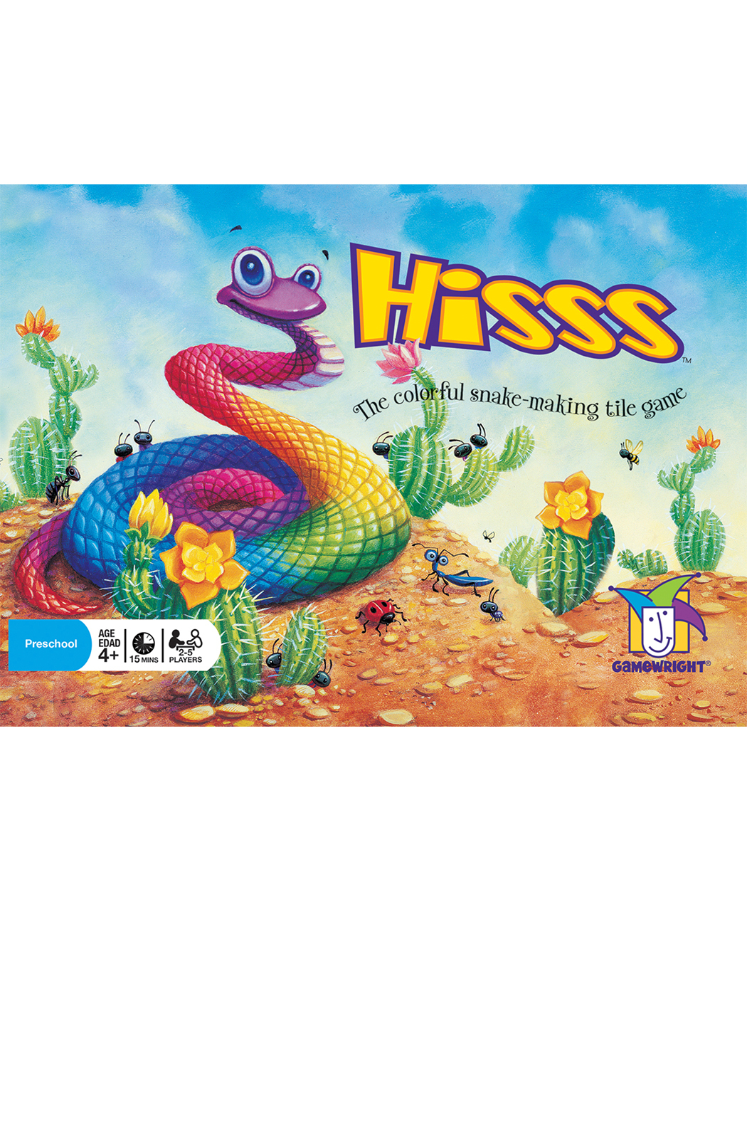 Gamewright Hisss - Front Full Image
