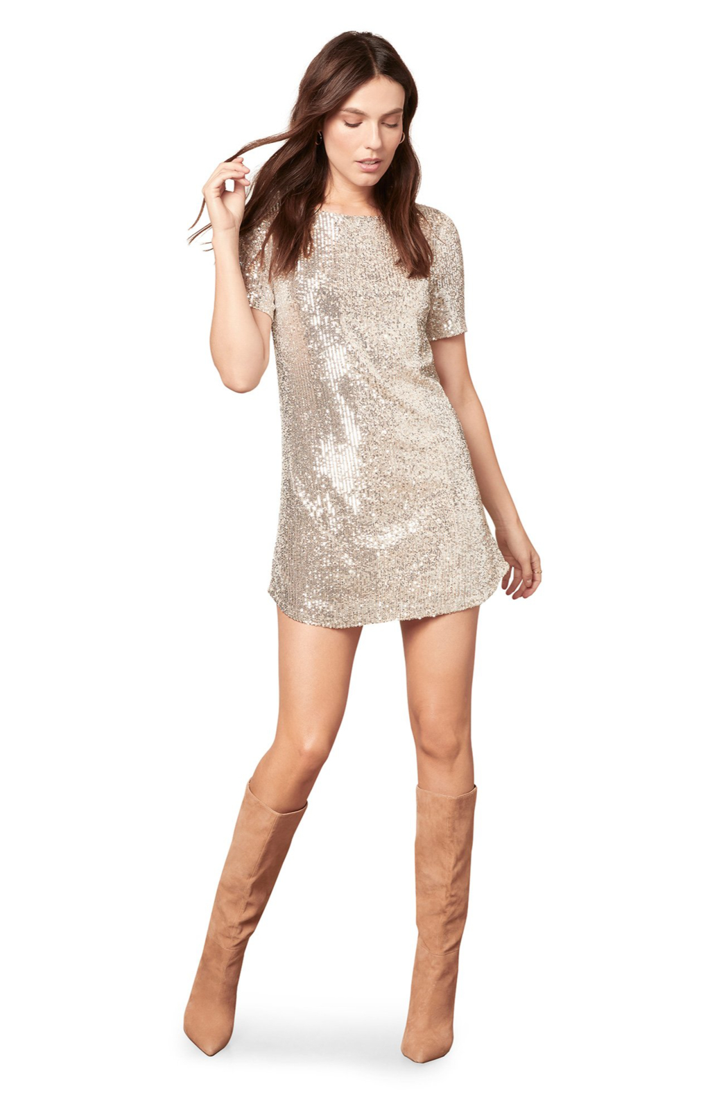 BB Dakota  Hit The Lights Dress - Front Full Image