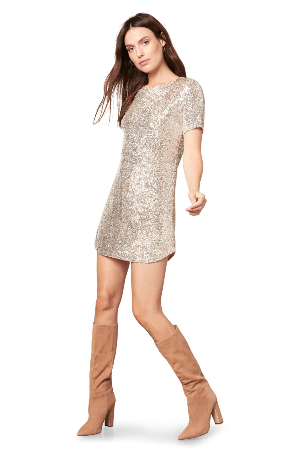 BB Dakota  Hit The Lights Dress - Side Cropped Image