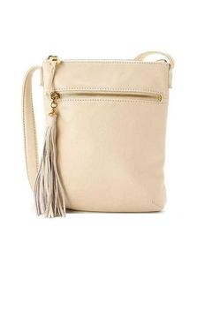 Shoptiques Product: Beige Leather Crossbody