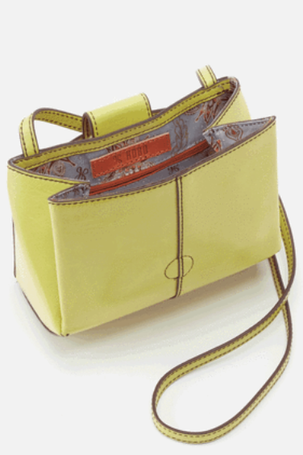 Hobo Elan Lemongrass leather crossbody - Front Full Image