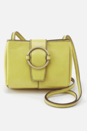 Hobo Elan Lemongrass leather crossbody - Front cropped