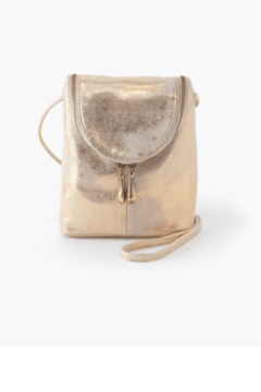 Shoptiques Product: Hobo Fern Gold Leather Small Crossbody