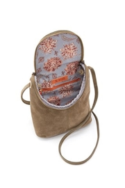 Hobo Fern Suede Bag - Front full body