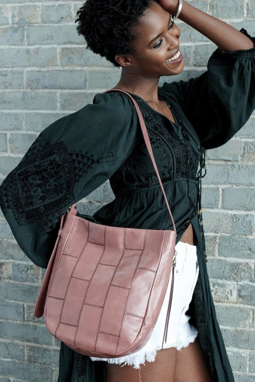 Hobo Kharma Shoulder Bag - Back Cropped Image