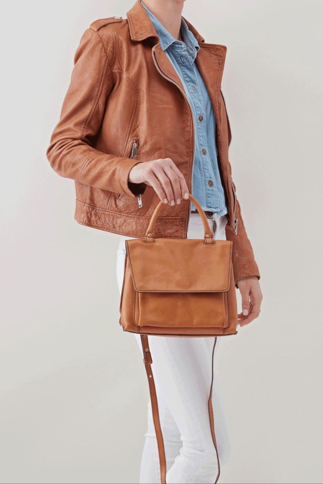 Hobo Meter Structured Purse - Back Cropped Image