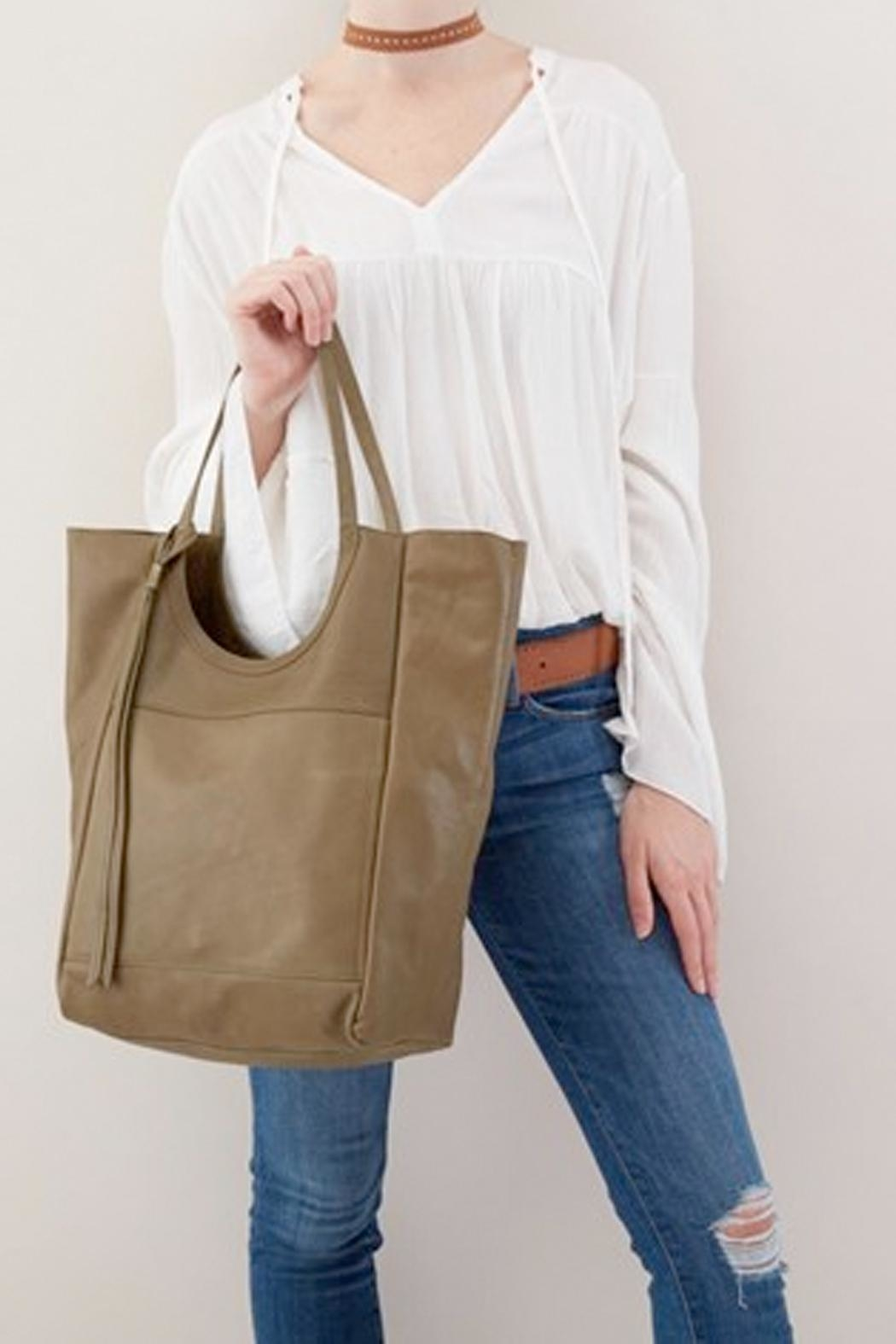 Hobo Native Unlined Tote - Back Cropped Image