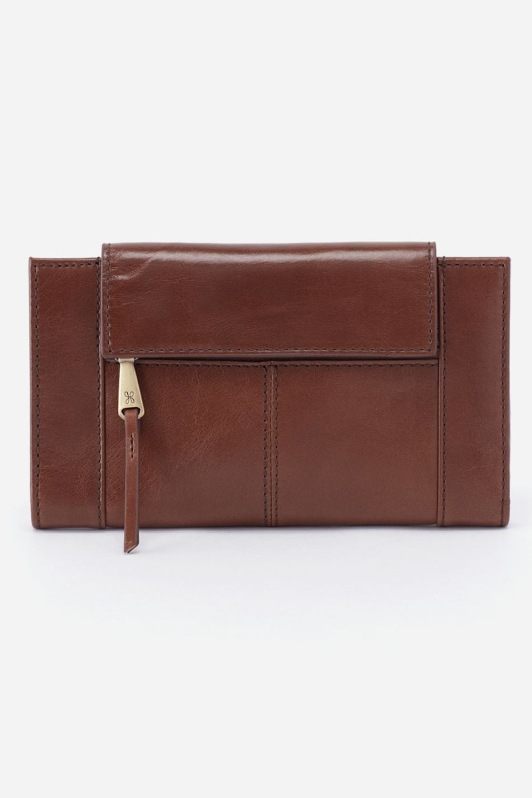 Hobo Pivot Leather Wallet - Main Image