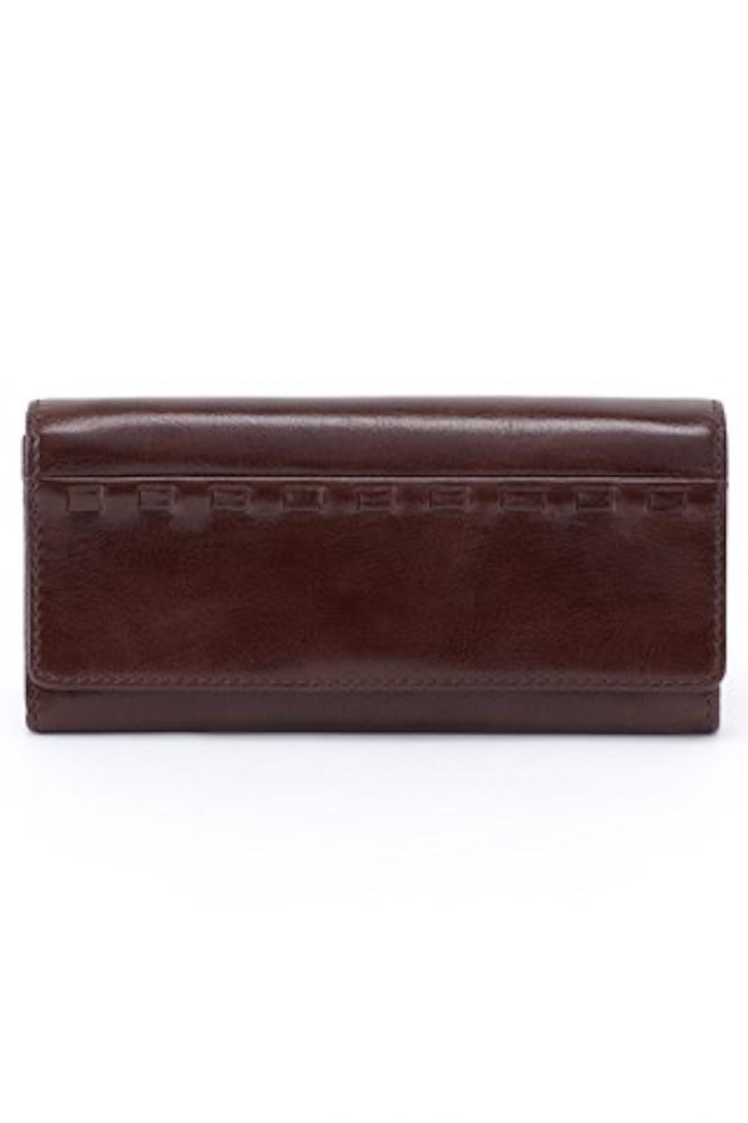 Hobo Rider Leather Wallet - Front Cropped Image