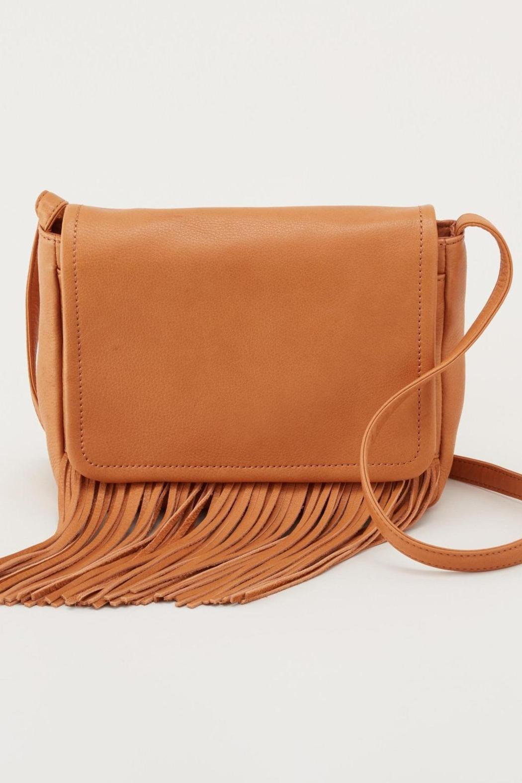 Hobo Leather Star Crossbody - Front Cropped Image