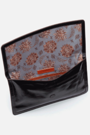 Hobo The Original Hobo the Original Crest Clutch Wristlet - Front full body