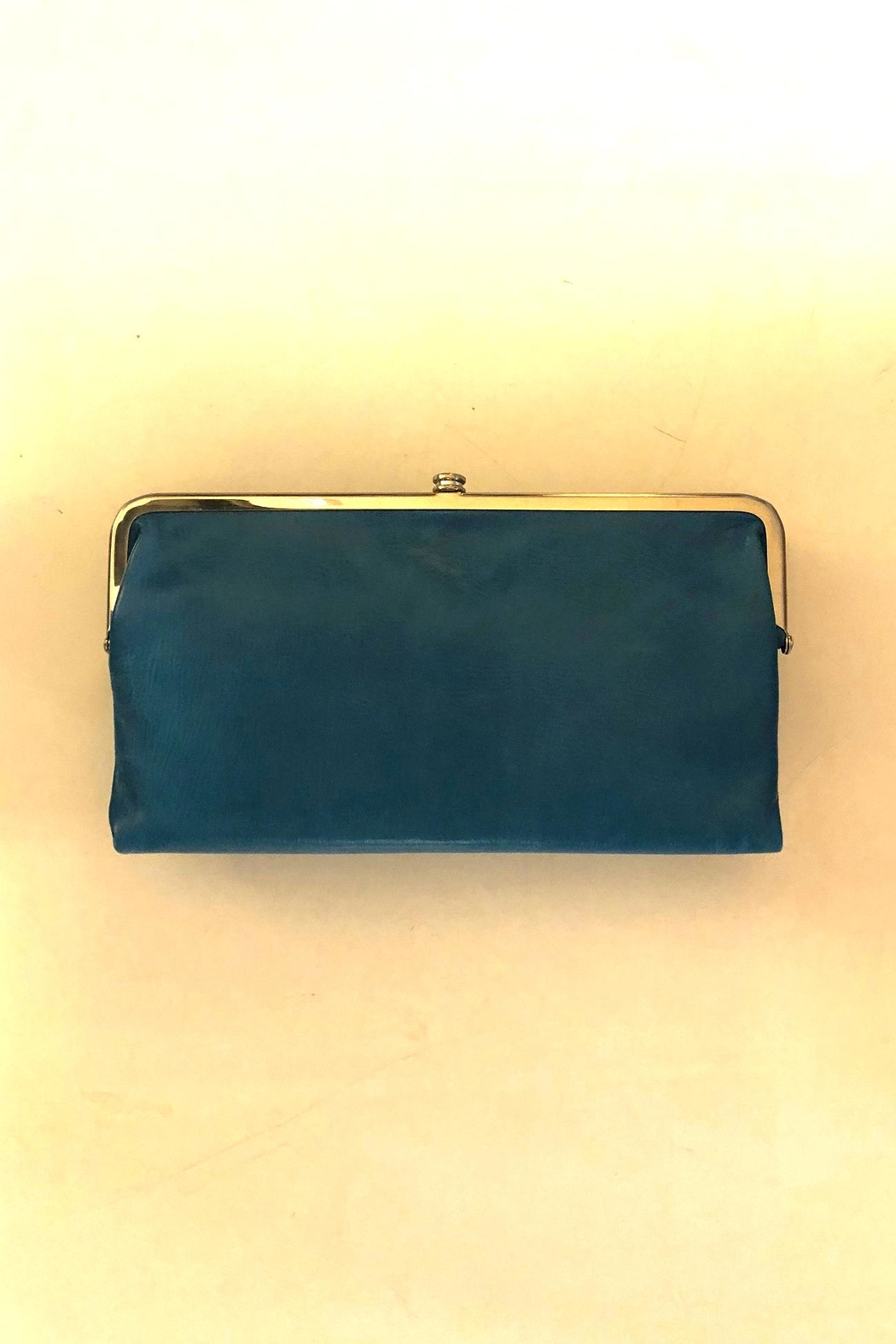 Hobo Turquoise Lauren Wallet - Front Cropped Image